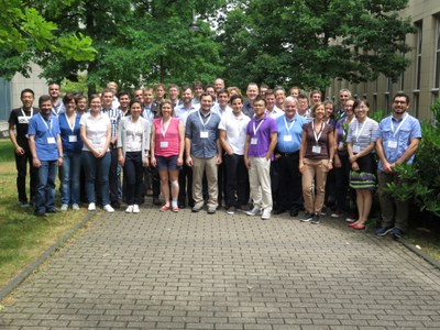 group picture of the participants to the first ISSW 2017 in Cologne